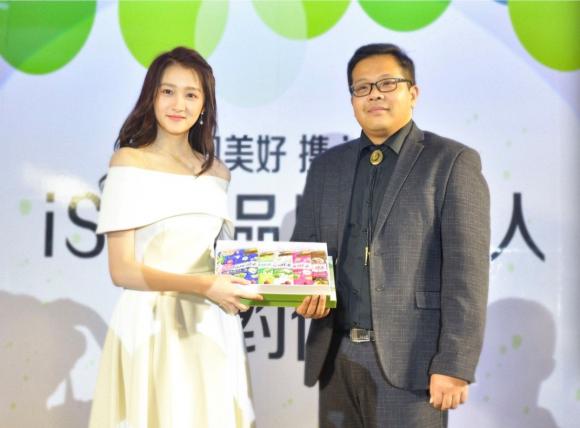 关晓彤成为日本保健品牌ISDG亚太区代言人