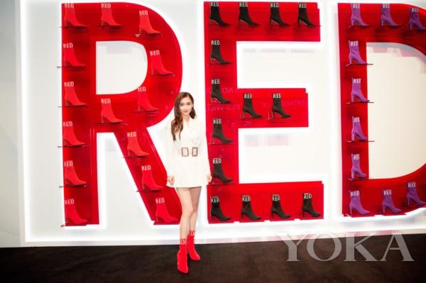 杨颖Angelababy成为红蜻蜓旗下时尚女鞋代言人
