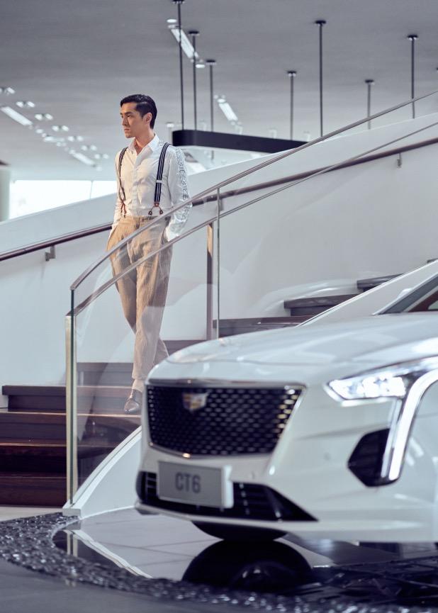 胡歌代言上汽通用汽车旗下新款凯迪拉克CT6