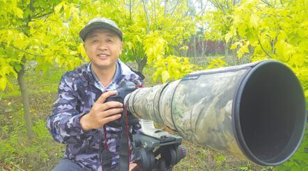 护鸟记者李洪涛